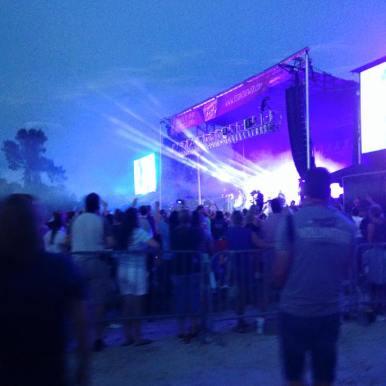Stage Management Freedom Fest Jacksonville, FL 2015